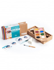 Kit maquillaje 8 colores Arcoíris BIO Namaki Cosmetics ©