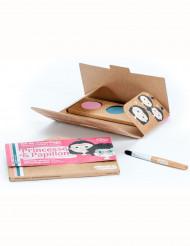 Kit maquillaje 3 colores princesa y mariposa BIO Namaki Cosmetics ©