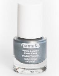 Pintaúñas con base acuosa plateado 7,5 ml Namaki Cosmetics ©
