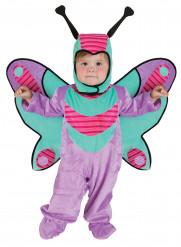 Disfraz de mariposa violeta bebé