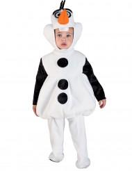Disfraz de muñeco de nieve niño