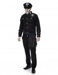 Disfraz de policía zombie hombre