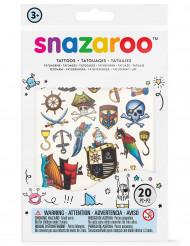 20 Tatuajes temporales niño Snazaroo™