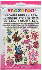 20 Tatuajes temporales niña Snazaroo™