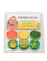 Mini kit maquillaje sellos cumpleaños Snazaroo™
