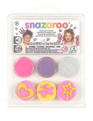 Mini kit maquillaje y sellos hada y mariposa Snazaroo™