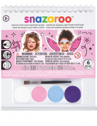 Mini kit maquillaje niña Snazaroo™ con cuaderno