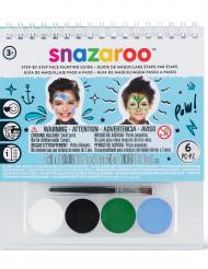 Mini kit maquillaje niños Snazaroo™ con cuaderno