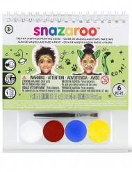 Mini kit maquillaje mixto Snazaroo™ con cuaderno
