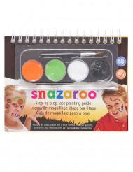 Mini kit de maquillaje mixto Snazaroo™ con cuaderno Halloween