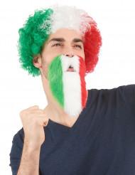 Barba hincha Italia adulto