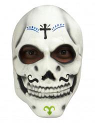 Máscara Esqueleto Día de los Muertos adulto