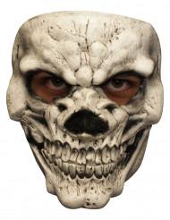 Máscara esqueleto sonrisa terrorífica adulto
