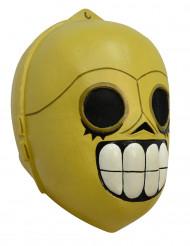 Máscara androide Día de los muertos Halloween