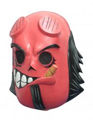 Máscara diablo rojo - Día de los Muertos Calaveritas™ adulto
