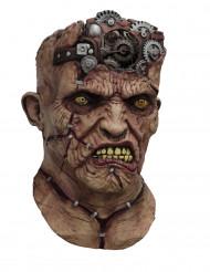 Máscara integral animada Frankenstein máquina adulto