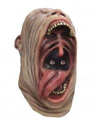 Máscara integral animada boca enorme adulto Halloween