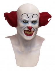 Máscara integral payaso diabólico adulto - Halloween