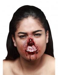 Herida falsa labio superior desgarrado adulto Halloween