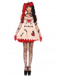 Disfraz de muñeca vudú mujer Halloween
