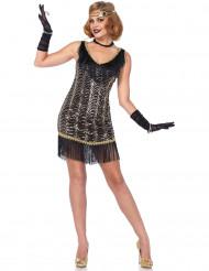 Disfraz de charlestón elegante mujer