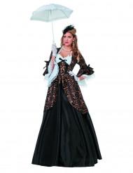 Disfraz de marquesa Deluxe mujer