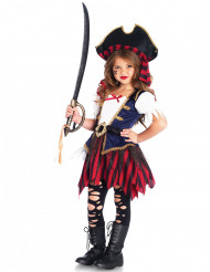 Disfraz tesoro de pirata niña