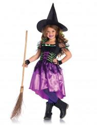 Disfraz bruja encantada niña Halloween