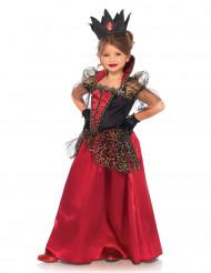 Disfraz de reina malvada niña