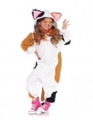 Disfraz traje gato niña