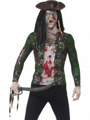 Disfraz de pirata zombie hombre adulto
