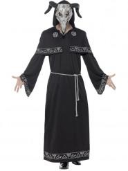Disfraz mago de magia negra adulto Halloween