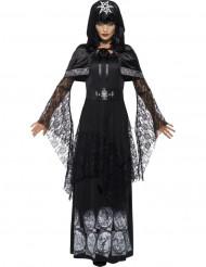 Disfraz señora de magia negra adulto Halloween