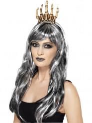 Corona mano esqueleto adulto Halloween