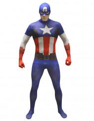 Disfraz Morphsuits™ Capitán América adulto