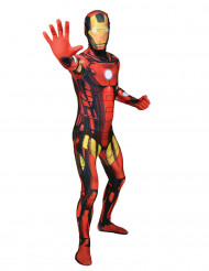 Disfraz Morphsuits™ Iron Man clásico adulto