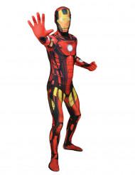 Disfraz Morphsuits™ Iron Man clásico adulto