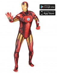 Disfraz Morphsuits™ Zapper Iron Man adulto