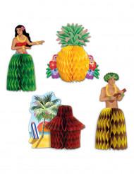 Centro de mesa Hawái