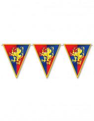 Guirnalda banderines medieval