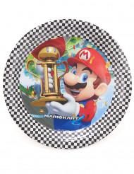8 Platos de cartón Super Mario™