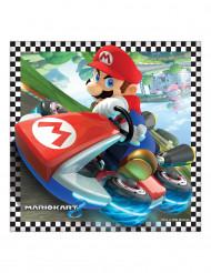 16 Servilleltas papel Super Mario™ 33 cm