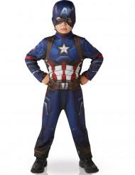 Disfraz clásico Capitán América™ niño Civil War