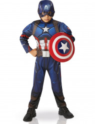 Disfraz deluxe Capitán América™ niño Civil War