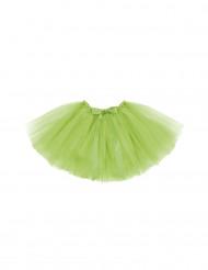 Tutú verde niña