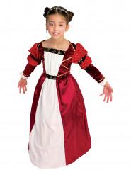 Disfraz de princesa medieval niña