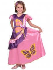 Disfraz de princesa mariposa niña