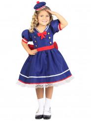 Disfraz de marinera azul niña