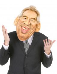 Máscara de cartón François Bayrou adulto