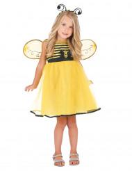 Disfraz de abeja con alas niña